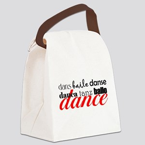 Dance Translation Canvas Lunch Bag