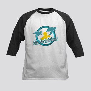 Silas Sea Turtle Buddies Kids Baseball Jersey