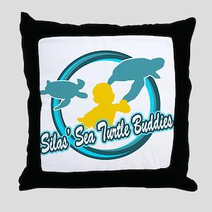 Silas Sea Turtle Buddies Throw Pillow