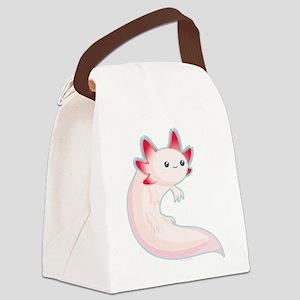 Axolotl Canvas Lunch Bag