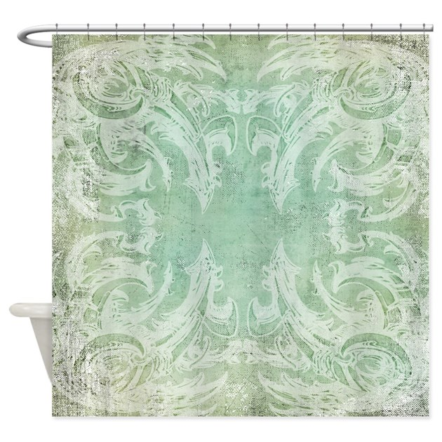 vintage shower curtains vintage shower curtain dino biomech by dinomech 10651