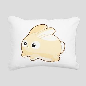 Mr. Bunny Rectangular Canvas Pillow