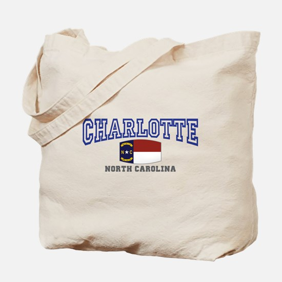 Charlotte, North Carolina NC USA Tote Bag