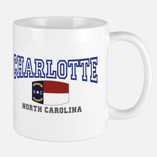 Charlotte, North Carolina NC USA Mug