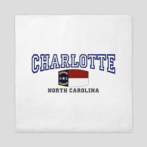 Charlotte, North Carolina NC USA Queen Duvet