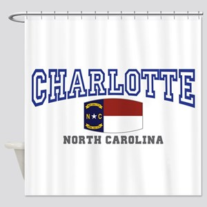 Charlotte, North Carolina NC USA Shower Curtain
