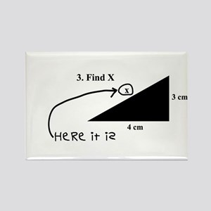 Find X Rectangle Magnet