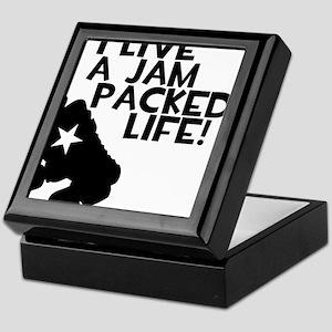 Jam Packed Life Keepsake Box