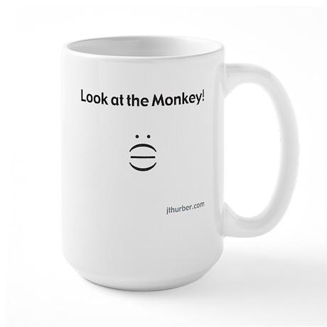 Look at the Monkey Mug (White)