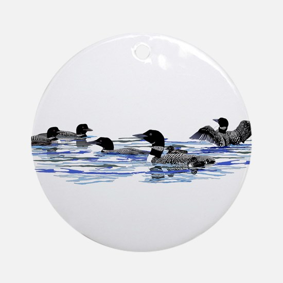 Lots of Loons! Ornament (Round)