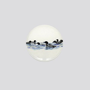 Lots of Loons! Mini Button