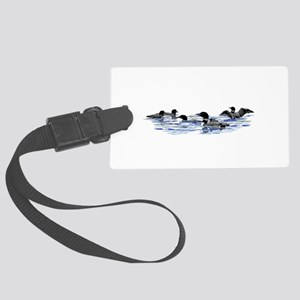Lots of Loons! Large Luggage Tag