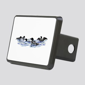 Lots of Loons! Rectangular Hitch Cover