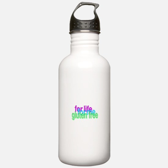 For life for me gluten free Water Bottle