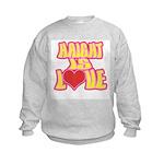 Haight Love Kids Sweatshirt