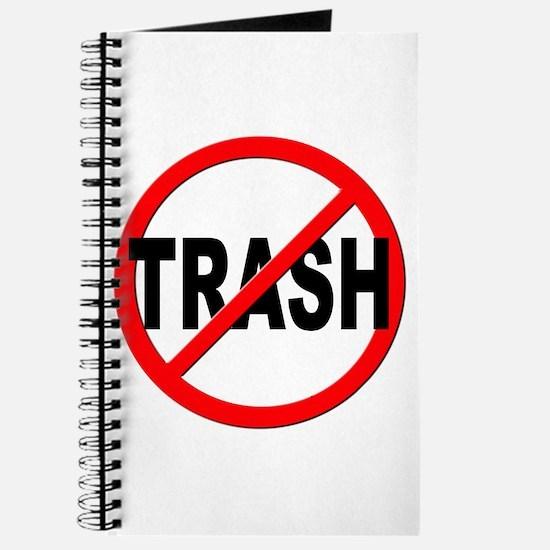 Anti / No Trash Journal