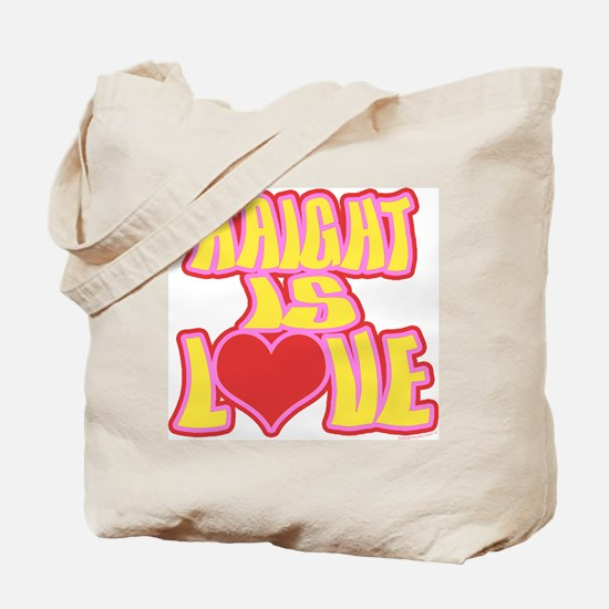 Haight Love Tote Bag