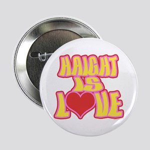 "Haight Love 2.25"" Button"