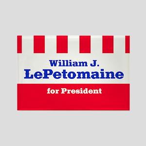 William J. LePetomaine - Rectangle Magnet
