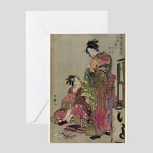 Omando Ogie Oiyo Takeji - Utamaro Kitagawa - 1785