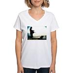 rumiNation Women's V-Neck T-Shirt