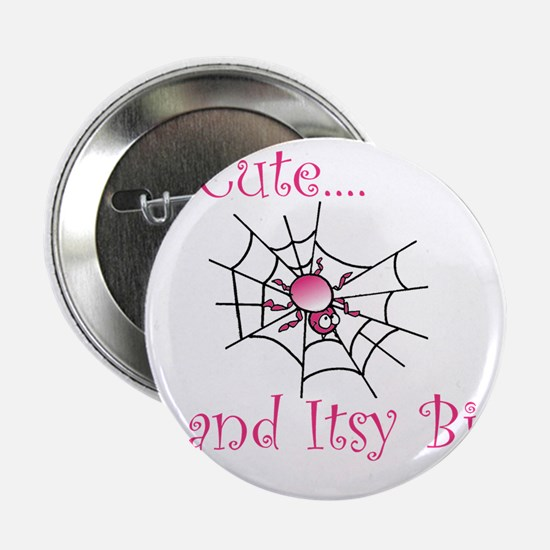 "Itsy Bitsy Spider Girl 2.25"" Button"