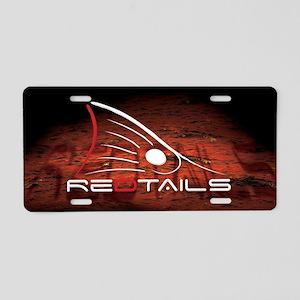 Redtails - Aluminum License Plate