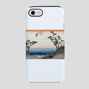 Shirasuka - Hiroshige Ando - 1833 iPhone 7 Tou