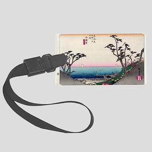 Shirasuka - Hiroshige Ando - 1833 Luggage Tag