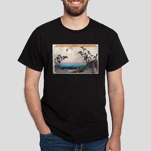 Shirasuka - Hiroshige Ando - 1833 T-Shirt