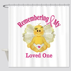 Remembrance Angel Shower Curtain