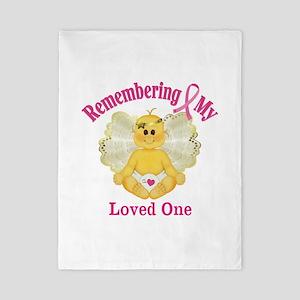 Remembrance Angel Twin Duvet
