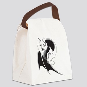 Wolf & Dragon Canvas Lunch Bag