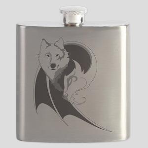 Wolf & Dragon Flask