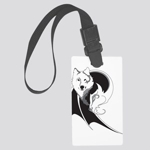 Wolf & Dragon Large Luggage Tag