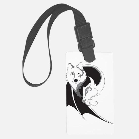 Wolf & Dragon Luggage Tag