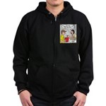 Trading Post Bucket Zip Hoodie (dark)
