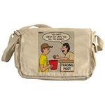 Trading Post Bucket Messenger Bag