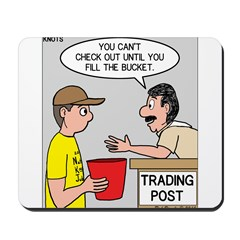 Trading Post Bucket Mousepad
