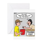 Trading Post Bucket Greeting Card