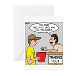 Trading Post Bucket Greeting Cards (Pk of 20)