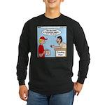 Trading Post Water Long Sleeve Dark T-Shirt