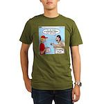 Trading Post Water Organic Men's T-Shirt (dark)