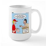 Trading Post Water Large Mug