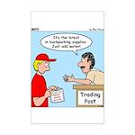 Trading Post Water Mini Poster Print