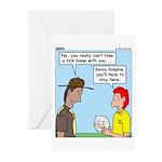 Pet Tick Greeting Cards (Pk of 10)