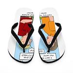 Potable Water Flip Flops