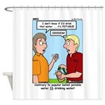 Potable Water Shower Curtain