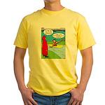 Campsite Canoeing Yellow T-Shirt