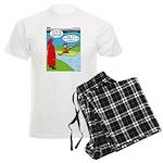 Campsite Canoeing Men's Light Pajamas